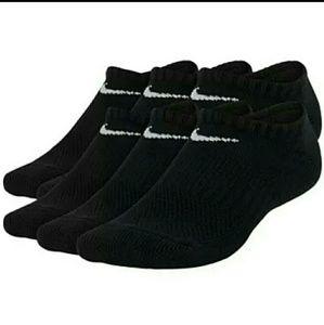 Women's 6 Pairs Nike Socks, 6_10 Shoe Size